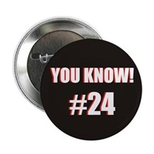 "You Know! 2.25"" Black Button"
