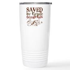 Saved by Grace Ceramic Travel Mug