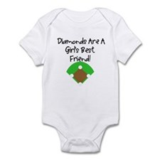 Diamonds Infant Bodysuit