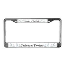 Sealyham Terrier Good Life License Plate Frame