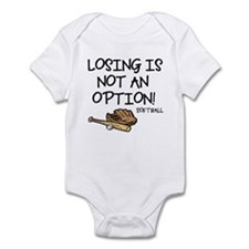 Losing Softball Infant Bodysuit