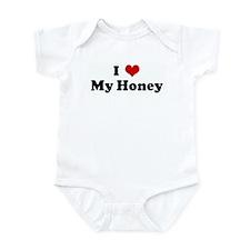 I Love My Honey Infant Bodysuit