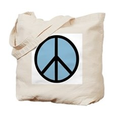 Peace Symbol Tote Bag