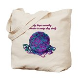 Unraveling Sanity Tote Bag
