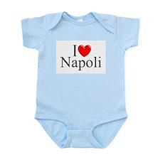 """I Love (Heart) Napoli"" Infant Bodysuit"
