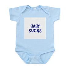 Gage Sucks Infant Creeper