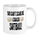 I Coach Softball Small Mugs