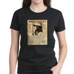 Annie Oakley Women's Dark T-Shirt