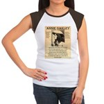 Annie Oakley Women's Cap Sleeve T-Shirt