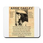 Annie Oakley Mousepad