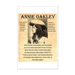 Annie Oakley Mini Poster Print