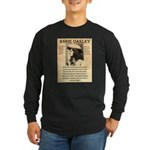 Annie Oakley Long Sleeve Dark T-Shirt