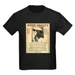 Annie Oakley Kids Dark T-Shirt