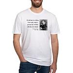 Nietzsche 33 Fitted T-Shirt