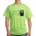 Nietzsche 33 Green T-Shirt
