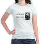 Nietzsche 33 Jr. Ringer T-Shirt