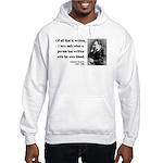 Nietzsche 33 Hooded Sweatshirt