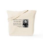 Nietzsche 33 Tote Bag