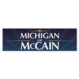 Michigan for McCain Bumper Sticker (50 pk)