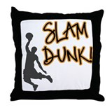 Slam Dunk Throw Pillow