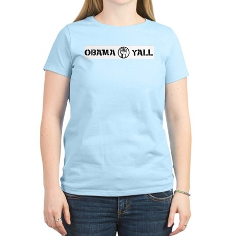 Obama Yall Women's Light T-Shirt