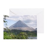 Costa Rica Arenal Greeting Cards (Pk of 10)