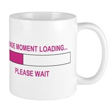 BLONDE MOMENT LOADING... Mug