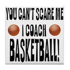 I Coach Basketball Tile Coaster