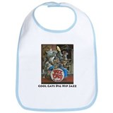 Cool Cats Dig Hip Jazz Bib