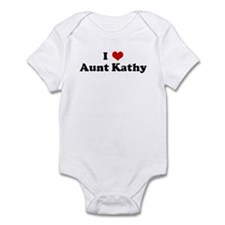 I Love Aunt Kathy Onesie