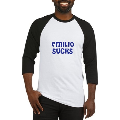 Emilio Sucks Baseball Jersey