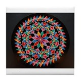 Costa Rica Oxcart Wheel Tile Coaster