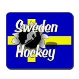 Sweden Hockey Mousepad