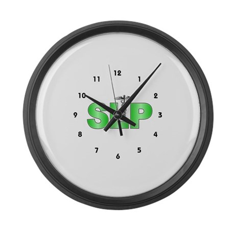 SLP Green Large Wall Clock