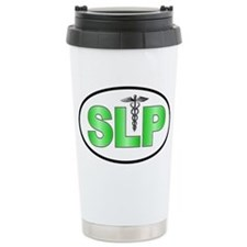 SLP Green Ceramic Travel Mug