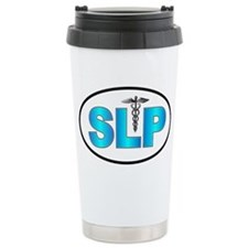 SLP Blue Ceramic Travel Mug