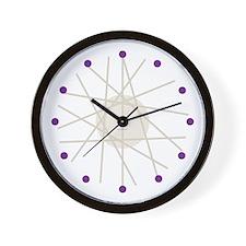Haywire Small Wall Clock (purple)