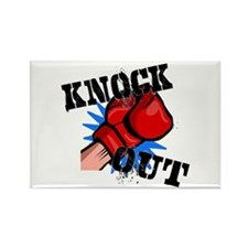 Knock Out Rectangle Magnet