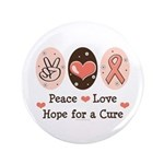 Peace Love Hope For A Cure 3.5