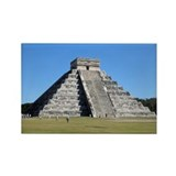 Chichen Itza Rectangle Magnet