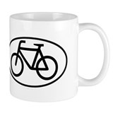 Bicycle Oval Coffee Mug