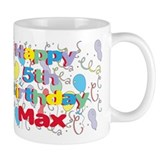 Max's 5th Birthday Mug