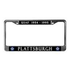 Plattsburgh AFB License Plate Frame