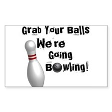Grab your balls Rectangle Sticker 50 pk)