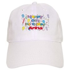 Anna's 6th Birthday Baseball Cap