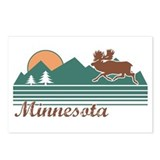 Minnesota Moose Postcards (Package of 8)