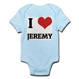I Love Jeremy Infant Creeper