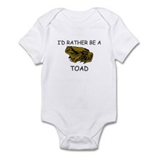 I'd Rather Be A Toad Infant Bodysuit
