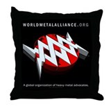 WMA Throw Pillow