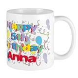 Anna's 5th Birthday Mug